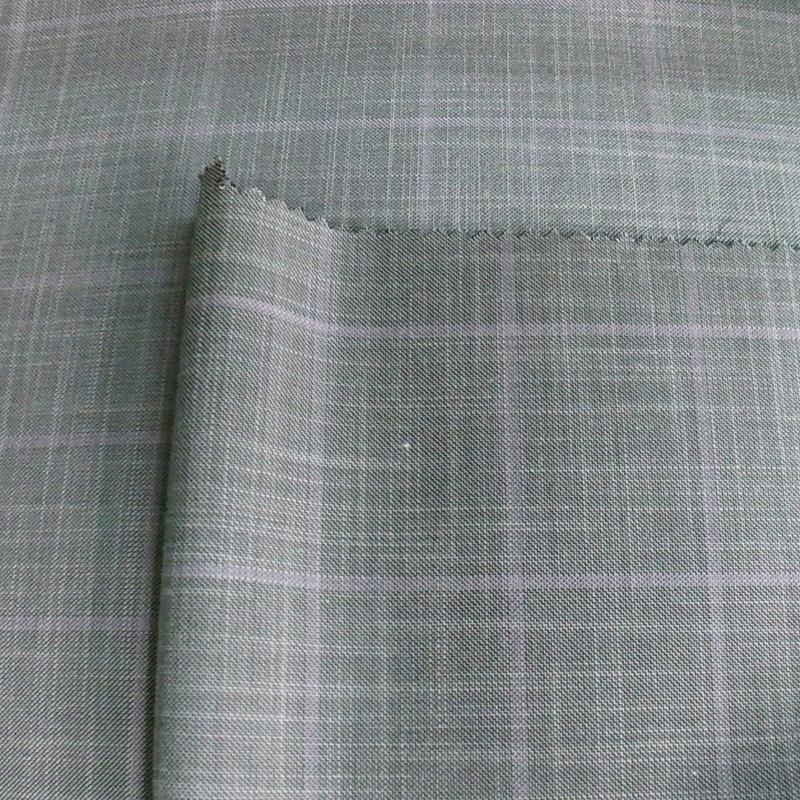 high quality 100 wool check yarn dyed plaid wool tartan fabric