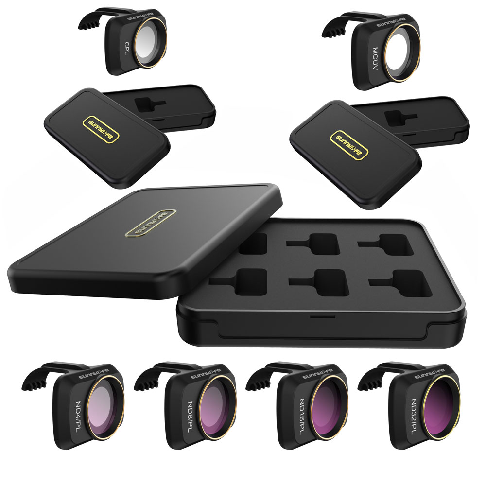 Для DJI mavic мини фильтры объектив камеры UV CPL ND 8 16 32 64 Комплект фильтров для DJI Mavic mini ND8 ND16 ND32 ND64 PL(Китай)