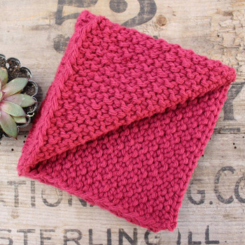 Y-F Knitting Pattern- Ribbon Stitch Dishcloth Dishcloth Knitting Instructions rags
