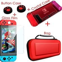 Чехол, аксессуары, чехол для Nintendo Switch, жесткий чехол из кожи, корпус, чехол Joy Con Joycon, ручка для игровой карты, защитный контроллер(Китай)