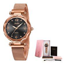 2019 SUNKTA брендовые роскошные женские часы водонепроницаемые Модные женские часы для женщин женские наручные часы Relogio Feminino Montre Femme(Китай)