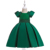 Wholesale Baby Child Clothing Girls  Floral satin  Evening Party Dress