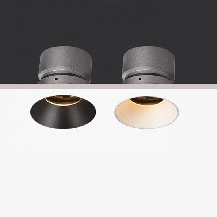 Home Decor Adjustable Angle Dimmable LED COB Downlights 9W Recessed Ceiling Lamp Round Spot Light