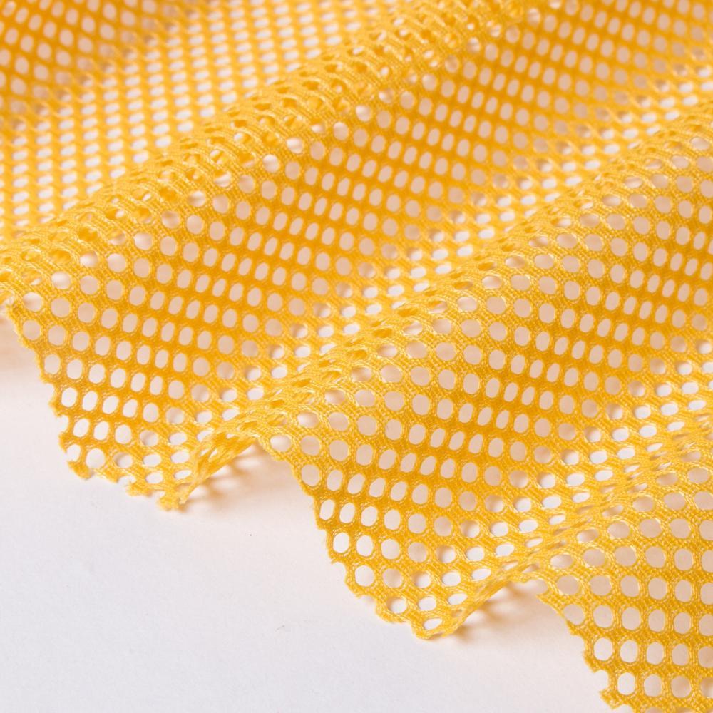 Дышащая плотная жесткая сетчатая ткань из 100% полиэстера для спортивной обуви