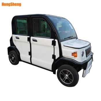 City use 4 wheel new solar electric car made in china