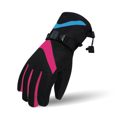 Wholesale Winter Ski and Snowboard-Gloves Leather Bag Waterproof XXL Customized Time Outdoor ski-gloves