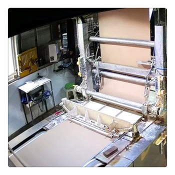 China Automatic Gypsum Board Production Line /gypsum board plasterboard making manufacturing