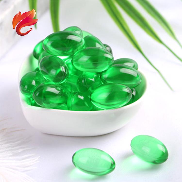 GMP Certificate Weight Loss Green Tea Soft Capsule