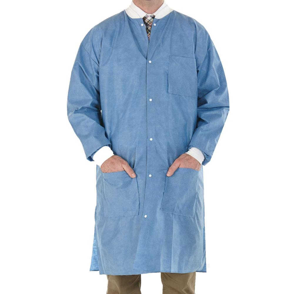 waterproof disposable nonwoven lab coat for doctor one time use Lab Coats - KingCare   KingCare.net