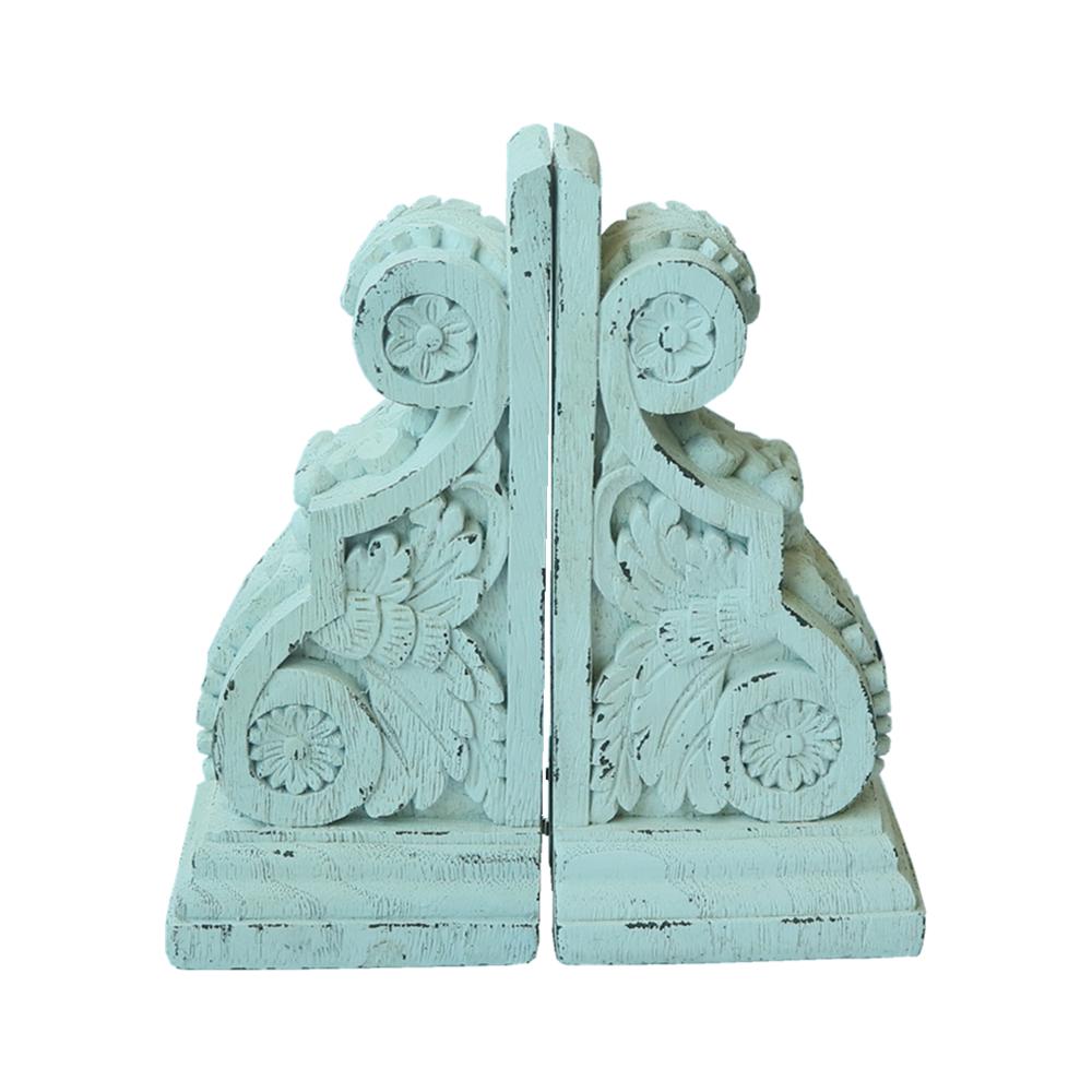 Лидер продаж, статуэтка русалки из смолы, подставки для книг для домашнего декора, полирезиновые подставки для книг