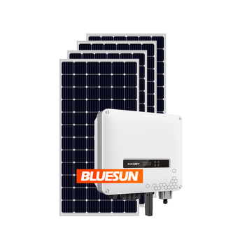 Bluesun Solar Energy Systems on grid solar system 10KW 20KW 30KW 50KW Solar Panel 10000Watt Grid Tie Home Solar System