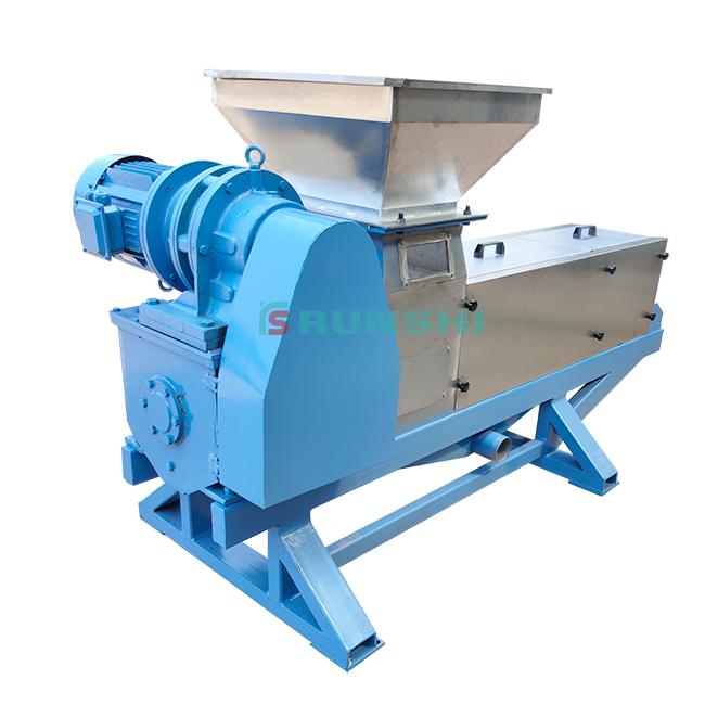Factory price vanilla bean waste extraction machine/Vanilla screw press juice machine