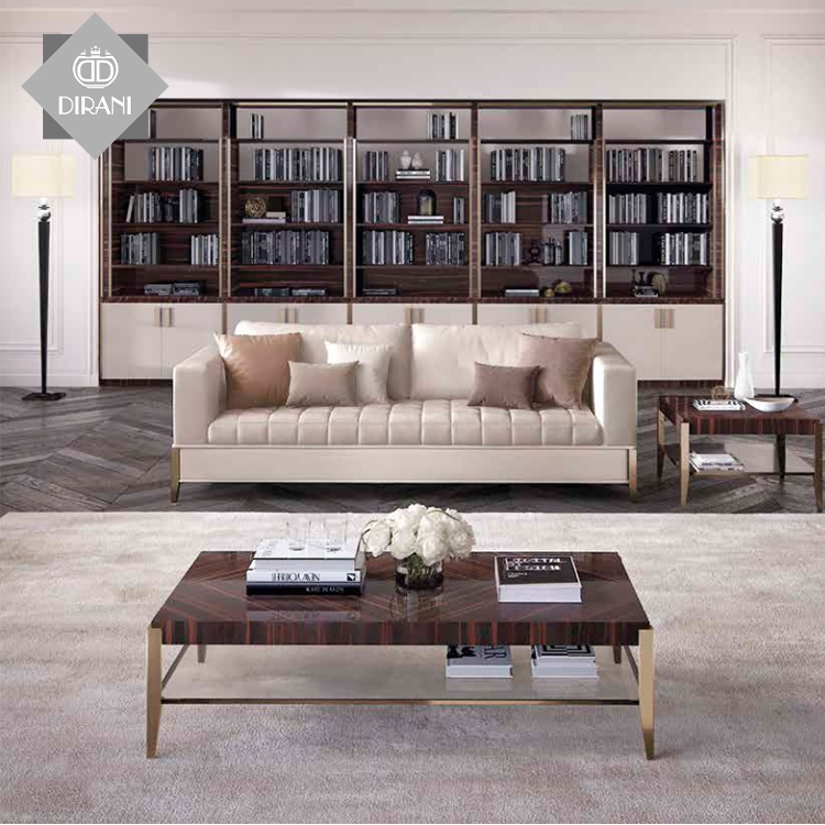 Luxury Simple New Living Room Modern Square Coffee Wooden Tea Table Design Tea Center Table View Living Room Furniture Modern Center Table Dirani Design Product Details From Foshan Dirani Design Furniture Co