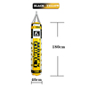 Hitam-Kuning 180cm