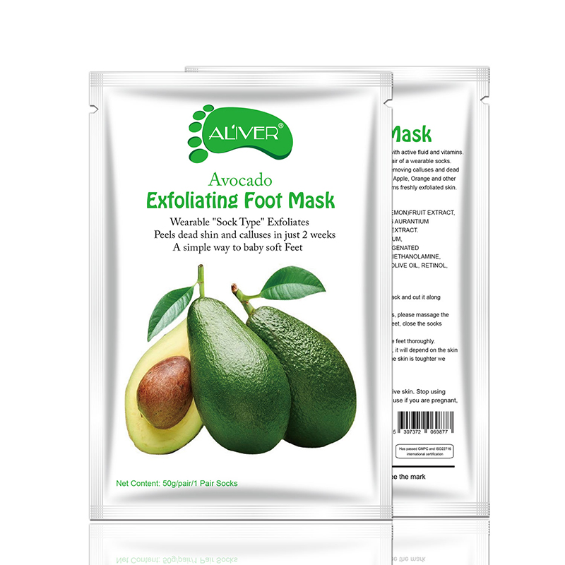 ALIVER Foot peeling Moisturizing Natural Exfoliating Foot Mask