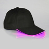 Black Cap with Pink Lights