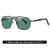 5. Matte middle gun/blue green