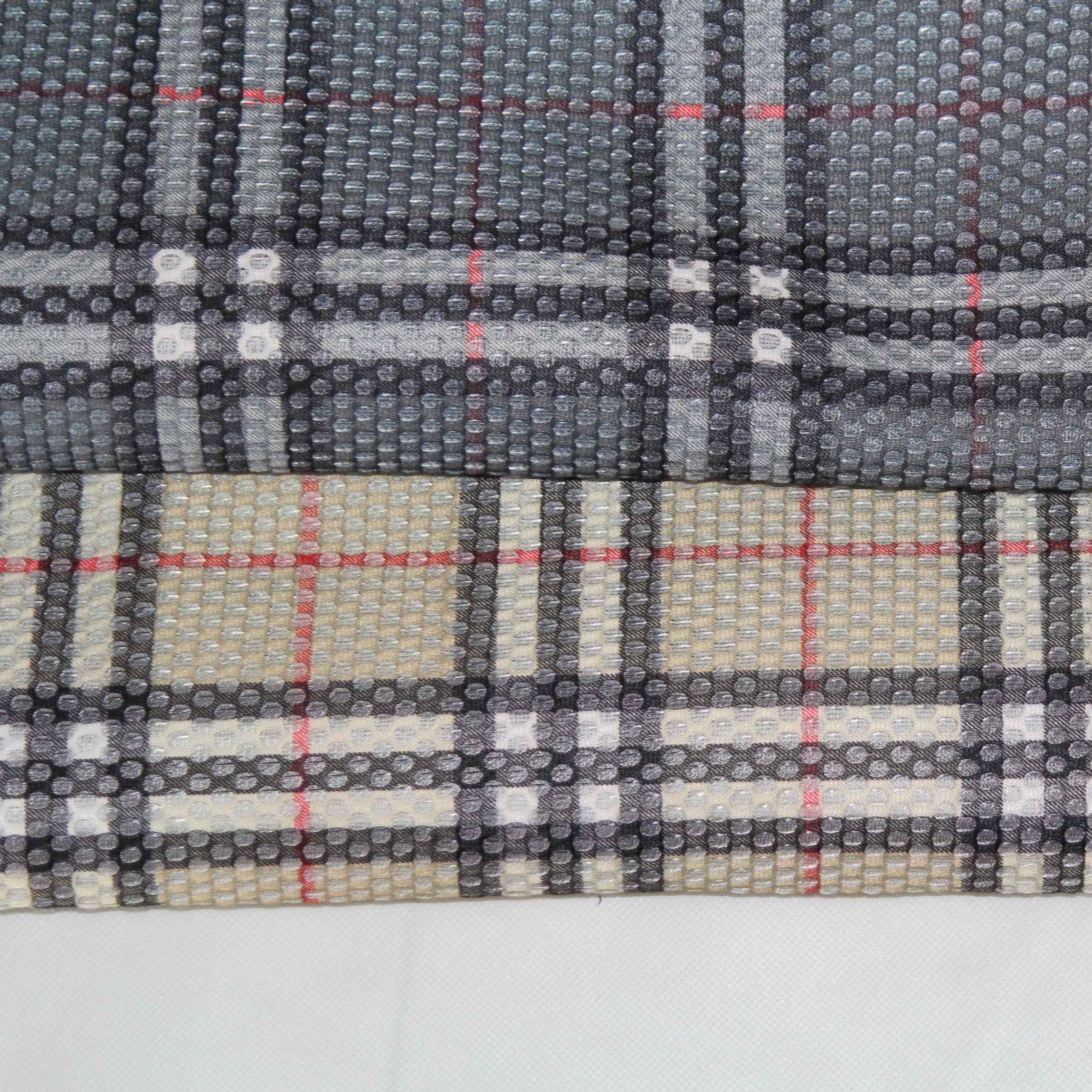 Сетчатая ткань с принтом