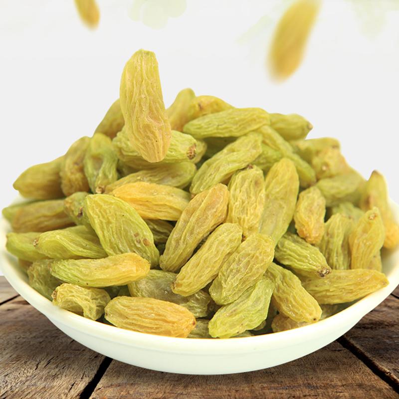Хорошая пищевая ценность, потребляемая сразу без семян и овальной формы, сушеный изюм, сухофрукты