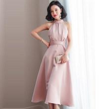 YULUOSHA 2020 новые сексуальные платья невесты, Холтер без рукавов Простой длиной до колен Свадебные Вечерние платья(China)