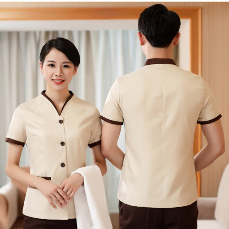 Summer Female Hotel Room Cleaning Cleaning Clothes Hotel Uniform