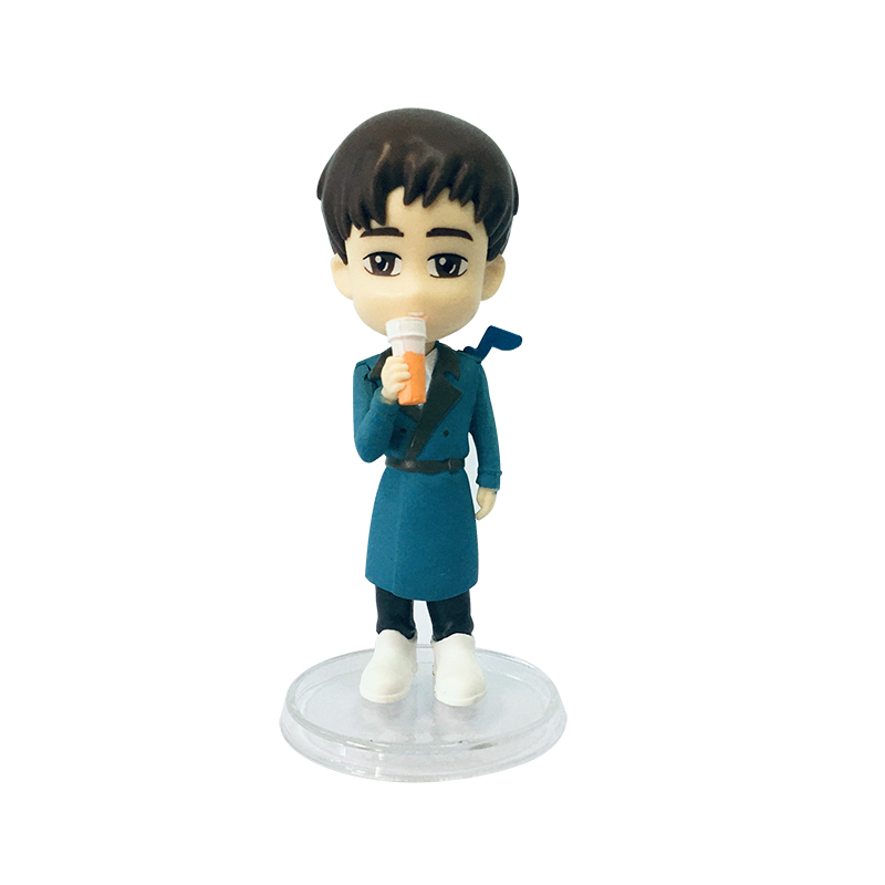 Plastic Injection Model Toy OEM Cartoon Figures For Promotional