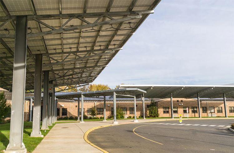 Алюминиевый кронштейн для крепления на солнечной батарее