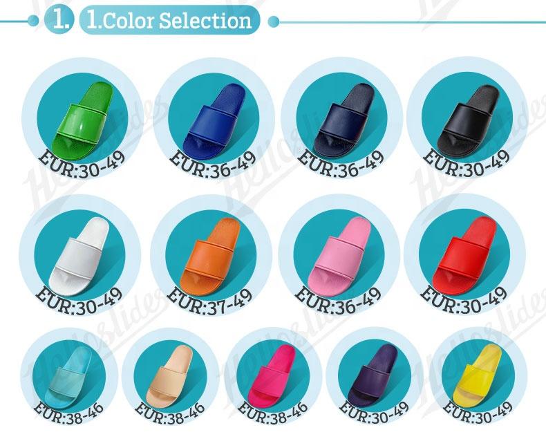 Helloslides Footwear Slipper Oem Slides Blank Sublimation Slides Custom Sandals With Logo Designer Slides Famous Brands
