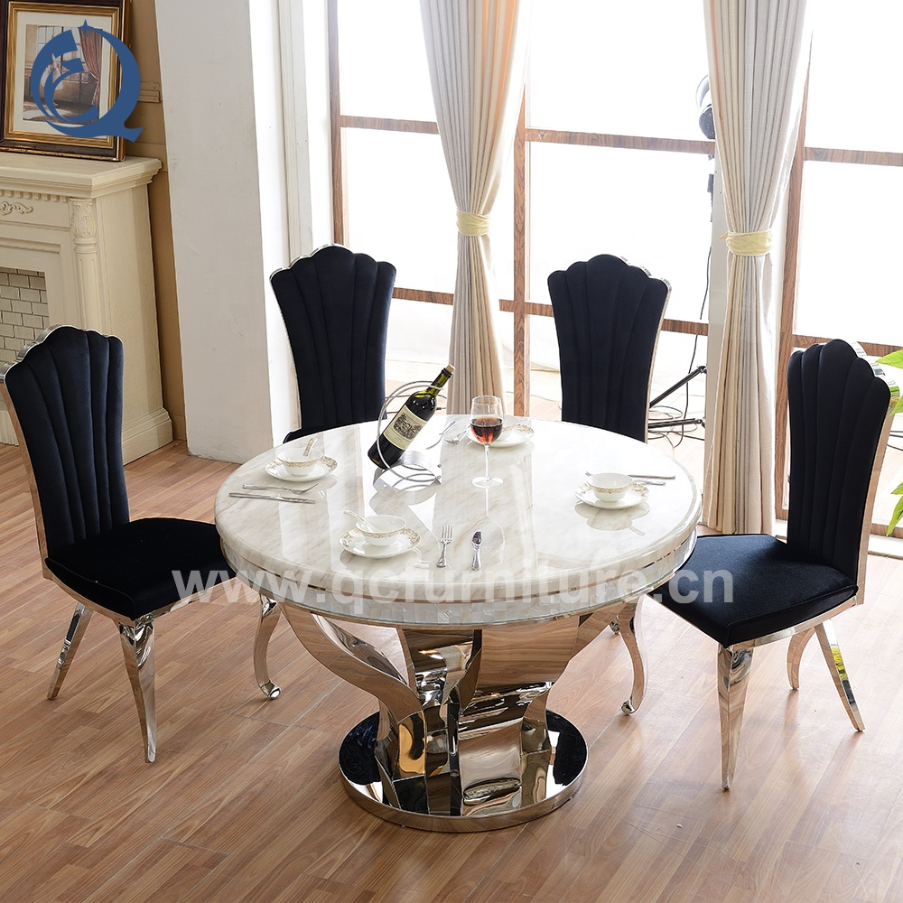Cheap Marble Top Dining Table Set Made In China   Buy Cheap Dining ...