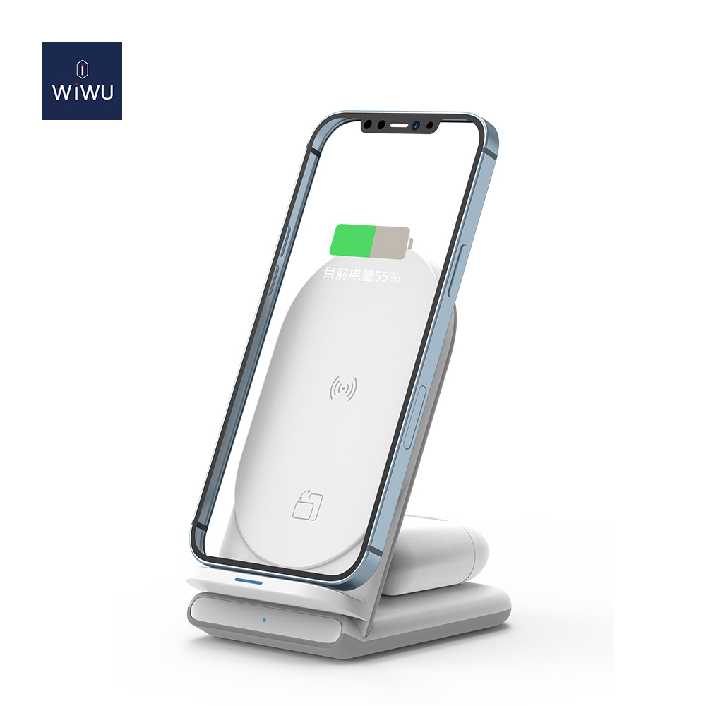 WiWU 二合一 无线充电器 (https://www.wiwu.net.cn/) 无线充电器 第6张