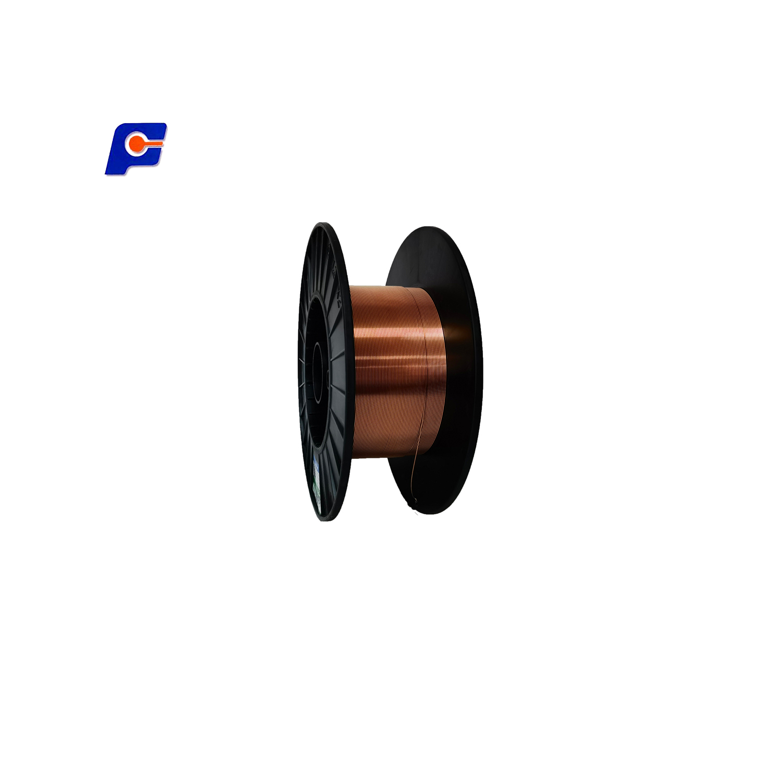 Wire Sheet Pipe Gas Shielded Copper Plated Low Alloy Steel Heavy Machinery Welding ER70S--6