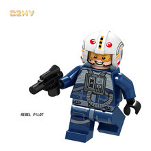 Legoed штурмовики из Звездных Войн clone trooper Минифигурка фигурки строительные блоки brikcs детские игрушки подарки(Китай)