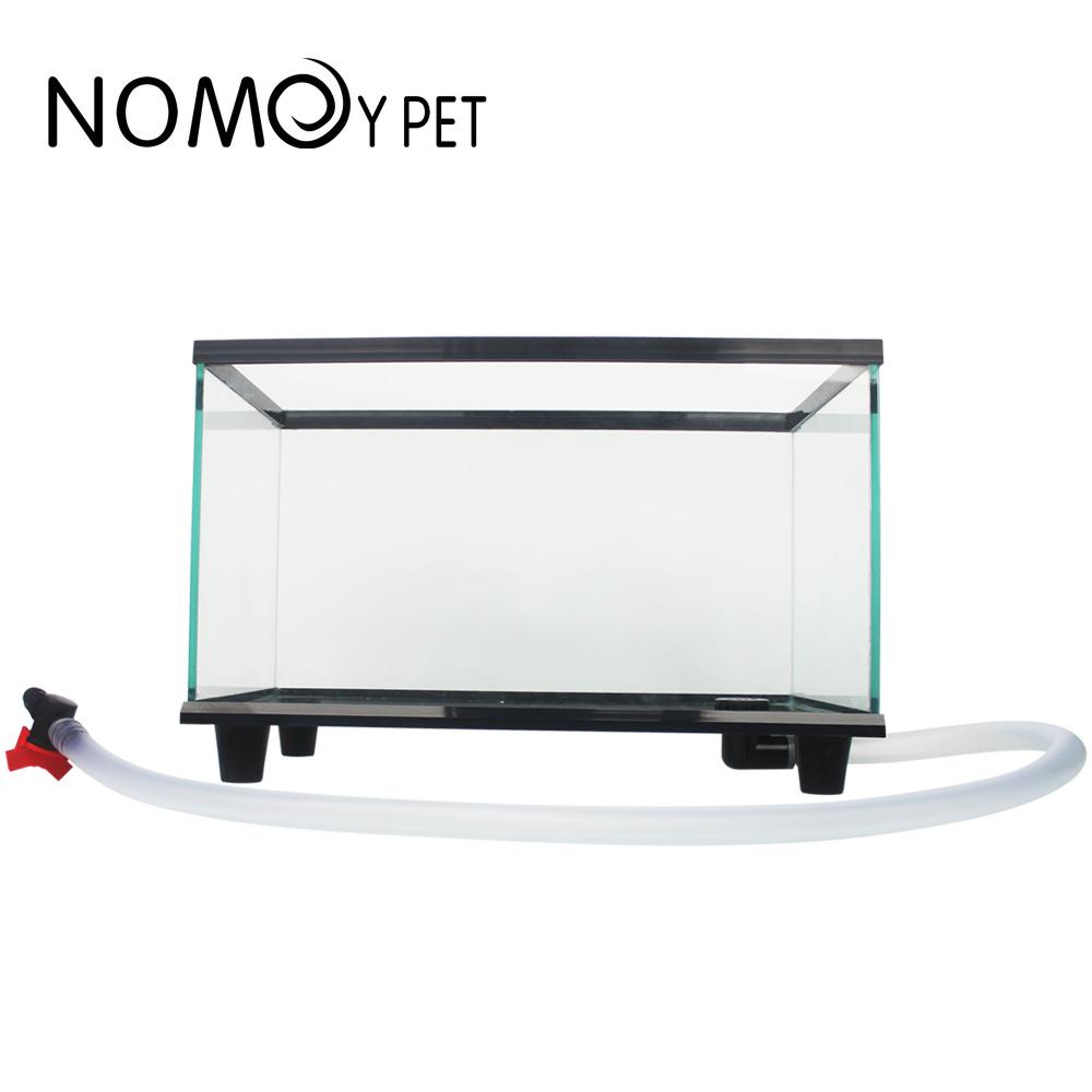 NOMOY PET 2020 new Desktop Ecological Aquarium clear glass bottom drain turtle tank fish tank aquarium NX-23