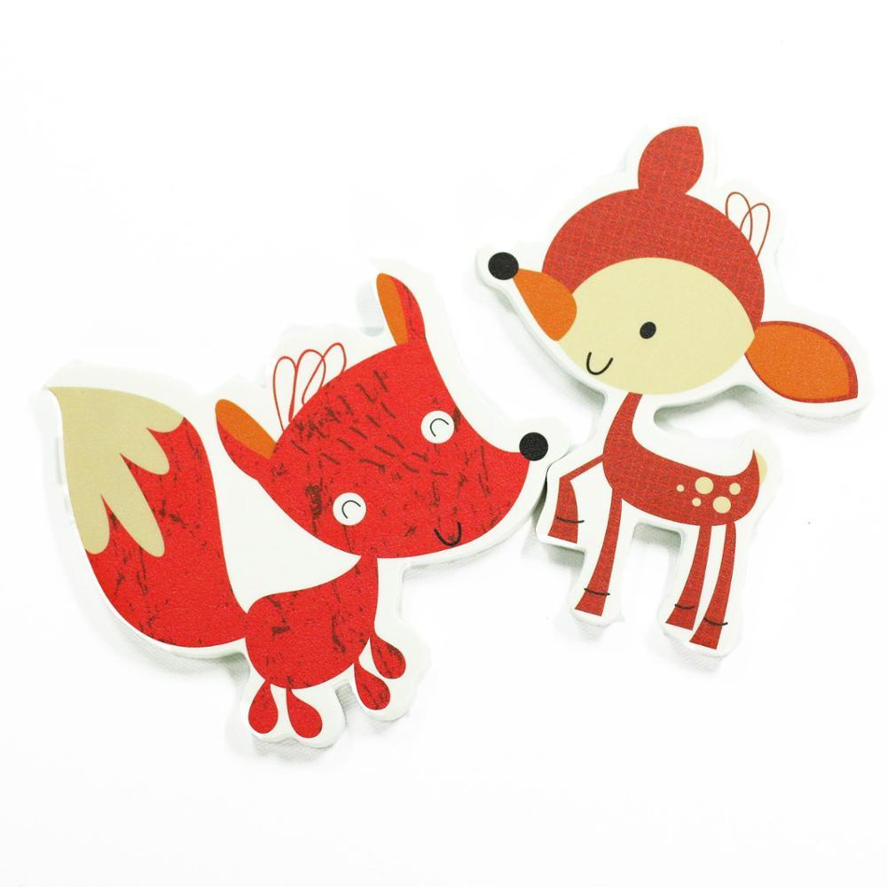 Животное Ванна безопасности плавающей пены EVA образовательные игрушки ванны набор для детей корзина Детские игрушки для купания