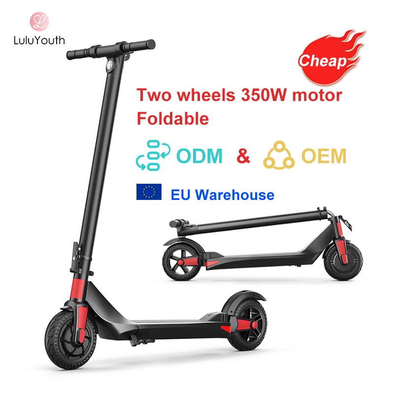 2021 New Product EU Warehouse Cheap Price Adult 36V 350W Foldable Electric Scooters For Sale
