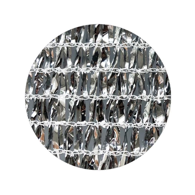 High HDPE Aluminum Foil Outdoor Shade Net for farm and horticulture garden