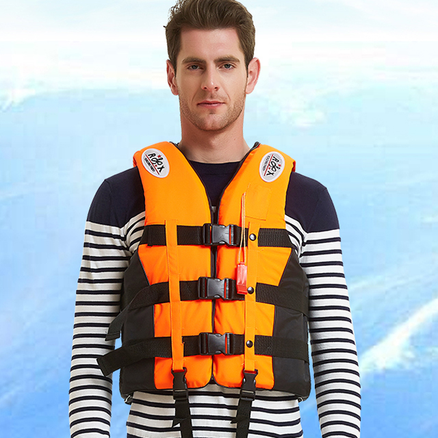 Adult Life Vest Large Buoyancy Marine Professional Fishing Portable Equipment Buoyancy Vest Adult Survival Child Rescue