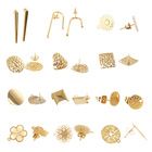 Earring Making XuQian Studs Earring Posts With Loop Assorted Shaped Earring Studs For Jewelry Making