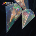 Decorations Lights 2021 New Rhombus Modelling Ramadan Motif Decorations Foil Atmosphere Lights High Quality Christmas New Year Celebrating Party