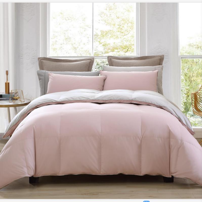 GAGA 90% пуховое одеяло с утиными перьями одинарное Двойное супер тонкое пуховое одеяло