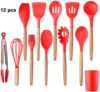 12 Pcs of Set Red