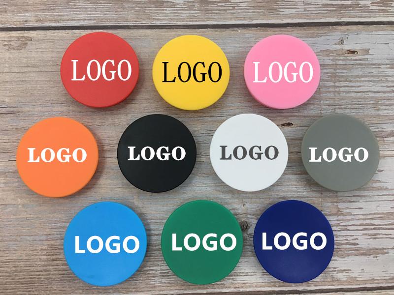Бесплатный образец держателя мобильного телефона рекламный дизайн захват телефонные розетки с пользовательским логотипом популярный