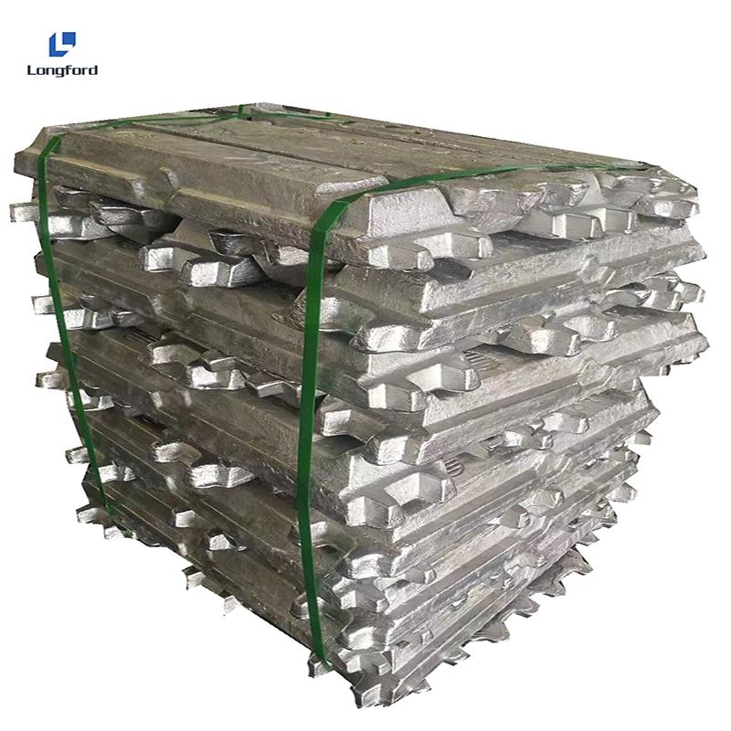 Прямые продажи 99,5% 99.7% 99.99% 99.9% ADC12 4-1 настраиваемый сплав Заводские алюминиевые слитки