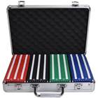 200 pcs wholesale box tray rack square paulson manufacturing rectangle casino poker chips set case