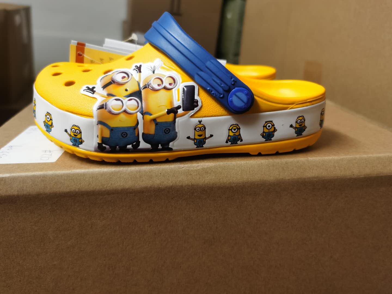 Детские Кроксы, сандалии для мальчиков и девочек, детская обувь