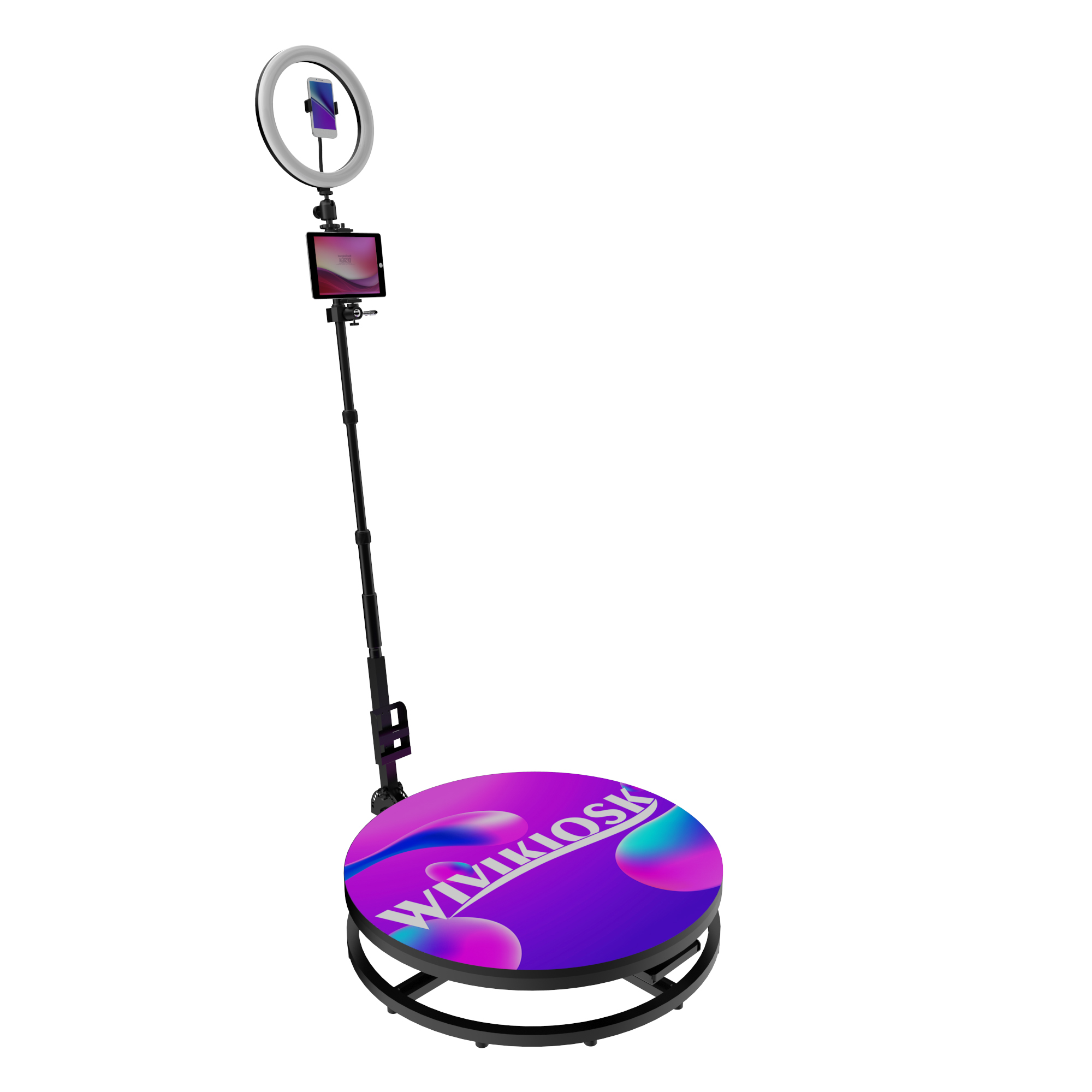 Dropshipping video camera portable 360 degree Photo booth wireless automatic selfie wedding business photobooth
