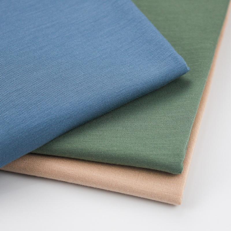 Super soft hand feel bamboo single jersey 95%bamboo 5%spandex