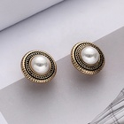 Clip Earring Clips Multiple Styles Pearls Geometry Golden Girls Wedding Clip Earring Customized Hawaiian Ear Clips