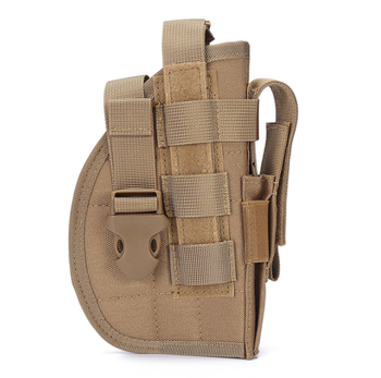 High Quality Tactical Pistol Holster Molle Belt Holster Shooter Holster for Right Handed