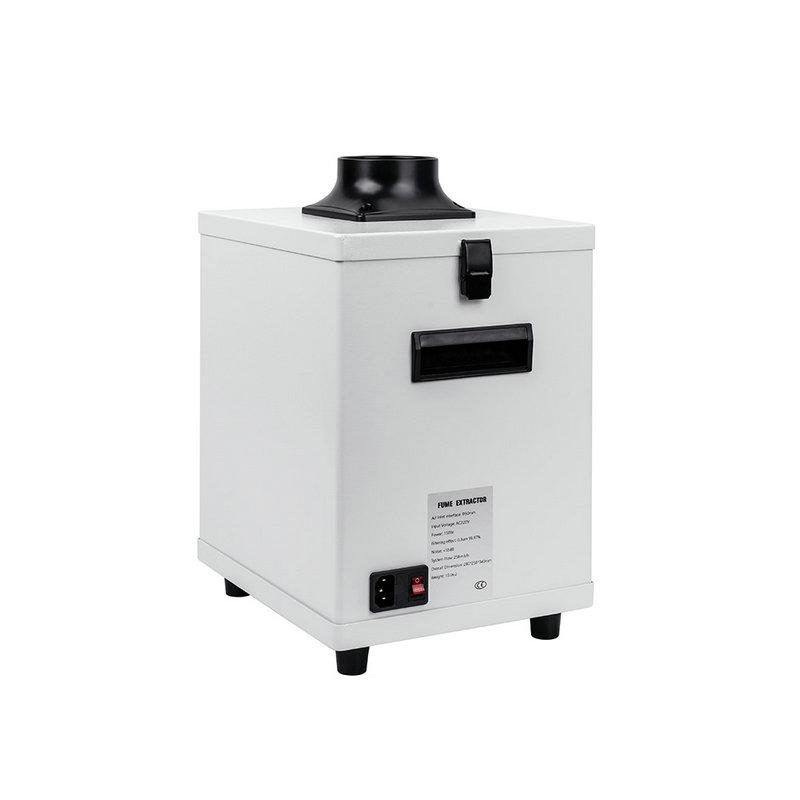 100W 3 layers Fume Extractor Smoke for TBK Laser Machine/ M-triangel laser machine